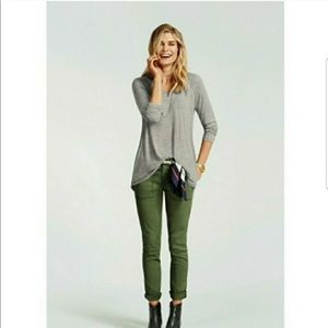 CAbi Green Quest Skinny Cargo Pants-Style #5315